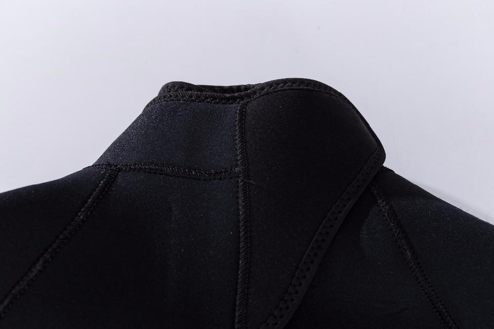 Combinaison de plongée pour hommes de 5 MM à manches longues combinaison de plongée à manches longues - 5