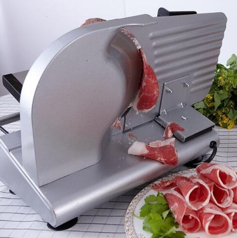 Livraison gratuite 2018 200 W électrique Trancheuse Ménage Agneau tranche viande Tranches de pain Hot Pot Viande De Bureau machine de découpe