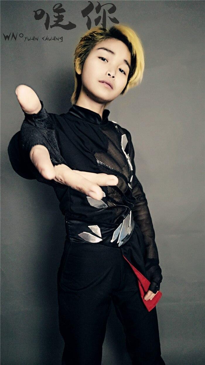 halloween Yuri!!! on Ice Victor Nikiforov cosplay costume cosplay uniform custom costume