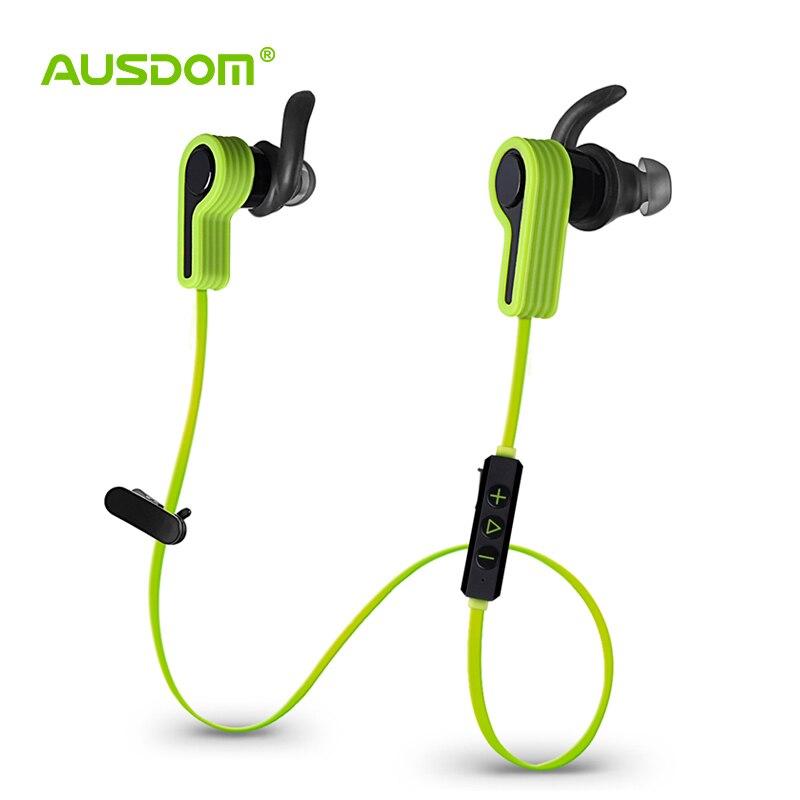 bilder für AUSDOM S940 Drahtlose Bluetooth Kopfhörer In-ear-ohrhörer Sport Kopfhörer Headset mit Mikrofon für iPhone Xiaomi Samsung