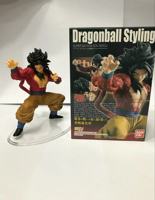 Anime Dragon Ball GT Styling Super Saiyan 4 Son Gokou PVC Action Figures Collectible Model Kids Toys Doll 12cm anime dragon ball super saiyan 3 son gokou pvc action figure collectible model toy 18cm kt2841