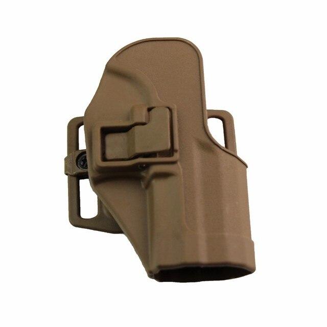 CQC Gun Holster tactical Hunting Airsoft Belt Pistol Holster for HK USP Compact Black/Green/Tan 5