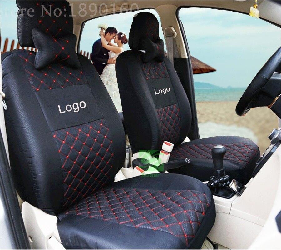 Universal car seat cover for Mitsubish ASX Lancer SPORT EX Zinger FORTIS Outlander Grandis car accessories car sticker