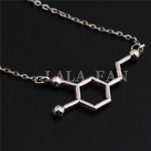 Breaking Bad Molecule Necklace