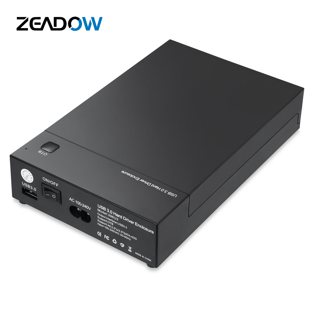 External Tool Free Hard Drive Enclosure USB 3 0 to SATA Docking Station For 2 5 3 5 Inch HDD SSD Support UASP Automatic Sleep