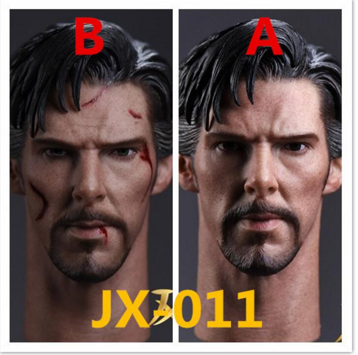 1:6 JXTOYS  JX-011 Doctor Strange Benedict Head Sculpt Normal Ver F 12/'/' Body