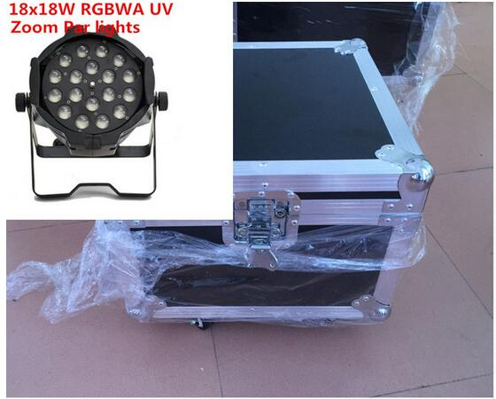 18X18W RGBWA UV 6in1 Led Zoom Par Light led effect light dj dmx lights pro svet light psl led uv 18 dmx