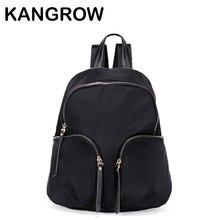 Kangrow Школьные сумки Для мужчин рюкзак нейлон камуфляж Для женщин Рюкзаки