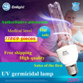 Ultraviolet disinfection lamp UV light sterilization germicidal E27 eu plug kill parasite bacteria germs office house hospital