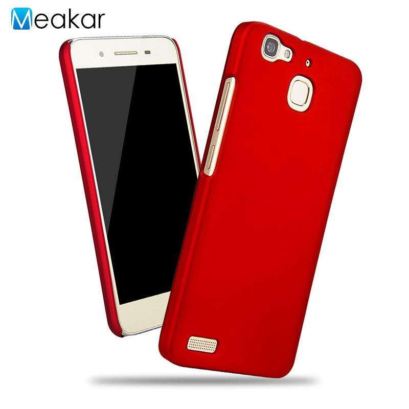 size 40 c698e 61f29 US $0.89 18% OFF|Grind arenaceous Hard Plastic shell 5.0for Huawei gr3 Case  For Huawei gr3 gr 3 enjoy 5s Cell Phone Back Cover Case-in Half-wrapped ...
