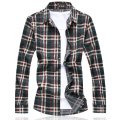 Free shipping plus size military men plaid color cotton big Turn-down Collar long-sleeve casual shirt bust 144 cm M-7XL 6XL 5XL