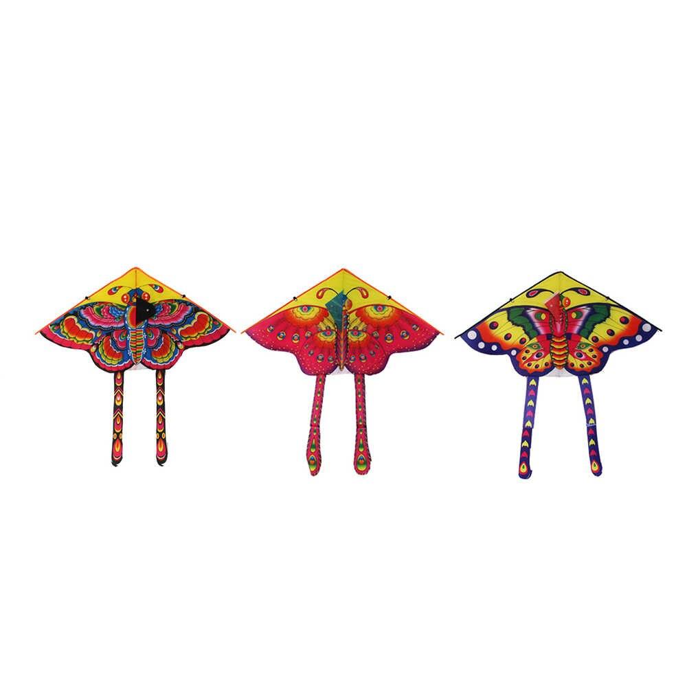 1 шт. 90*50 см Спорт на открытом воздухе бабочка воздушный змей с намоточная доска струнная детская игрушка игра