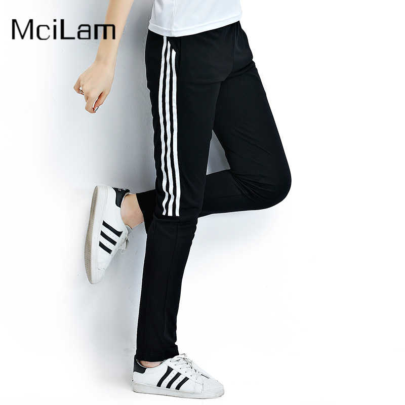 Women Yoga Pants Sports Outdoor Exercise Fitness Running Jogging Trousers Striped Workout Sport Pants