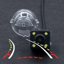 4LED Dinamico Traiettoria Tracce di retrovisione Della Macchina Fotografica Per per Suzuki Grand Vitara SX4 SX-4 Hatchback di Crossover Alto S-Cross macchina fotografica