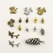 Jewelry Female Animal Squirrel Pine Nuts Hazelnut Diy Jewelry Accessories Diy Accessories(China)