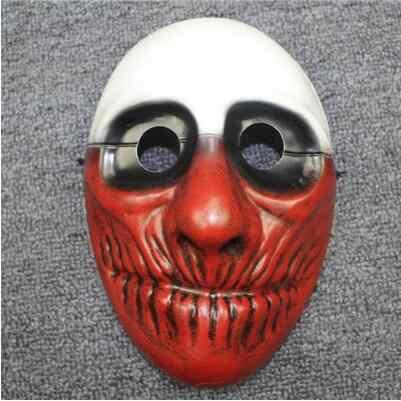 Jeu PAYDAY2 Dallas/loup/chaînes/Houston masque PVC 21X17CM masque cosplay accessoires kylo ren masque poc casque deathtemp masque