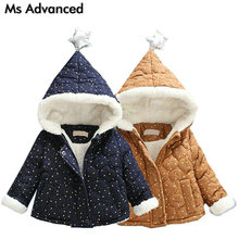 Mother Kids - Baby Clothing - 2017 Newborn Infant Baby Boy Jackets Coat Thick Winter Clothes For Baby Boys Velvet Hooded Jacket Child Casual Sport Outerwear