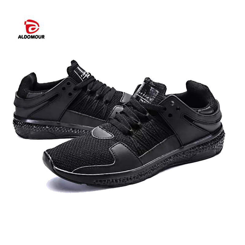 ALDOMOUR 2018 Spring Men Sneakers Sport Shoes Women Running Male Trainers Comfort folding and Breathable and dry hot sale LLZ