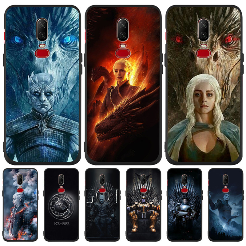 Luxury Game of Throne marvel Custom For One plus 5 5T font b 7 b font