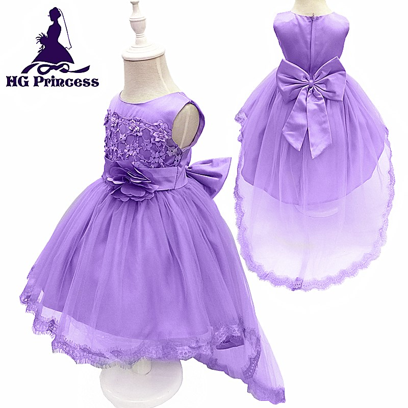 Lujo Vestidos De Fiesta Púrpura Para Las Niñas Molde - Ideas de ...