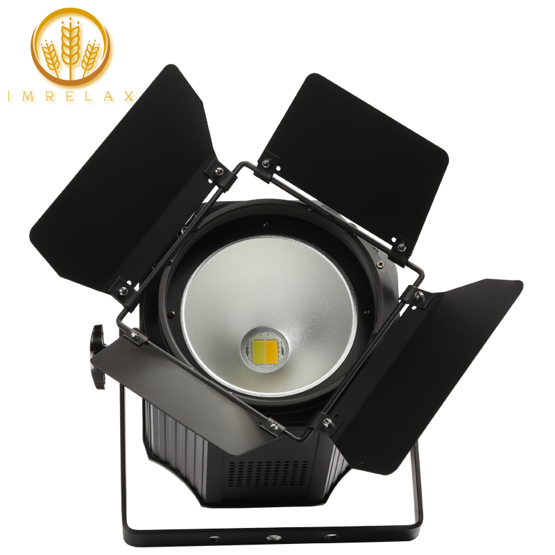 IMRELAX High Power 200w COB LED Par Light Professional Stage Lighting DMX LED Par DJ Disco Light with Fold Metal Cover-in Stage Lighting Effect from Lights & Lighting    1