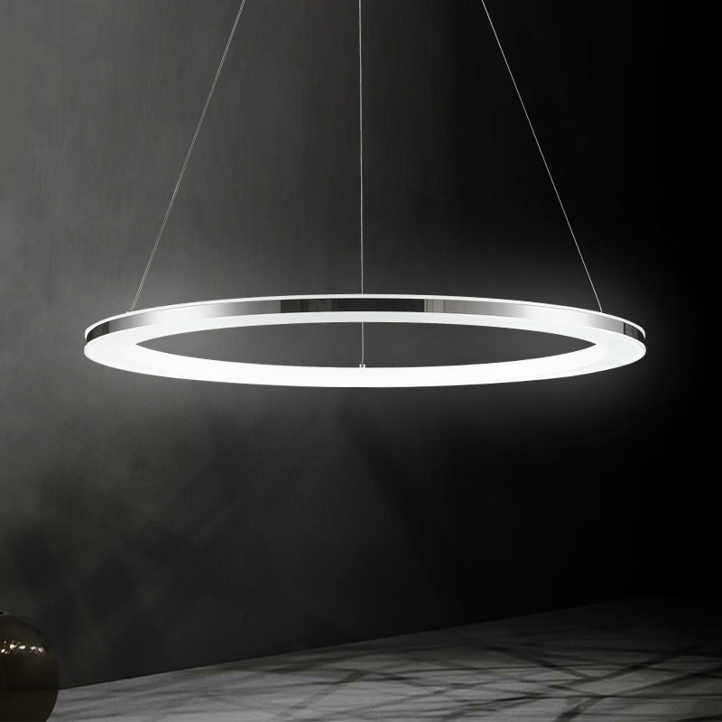 Ring LED lamps pendant lights for restaurant living room ring shaped office lamp dining room hones decorations pendant lamp ZA