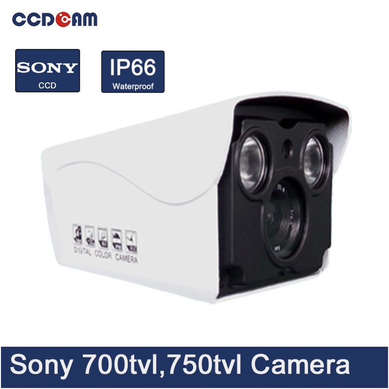 CCDCAM cheap fine cctv camera sony ccd 700/ 750 tvl waterproof analog ir bullet camera china купить