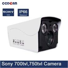 CCDCAM cheap fine cctv camera sony ccd 700/ 750 tvl waterproof analog ir bullet camera china