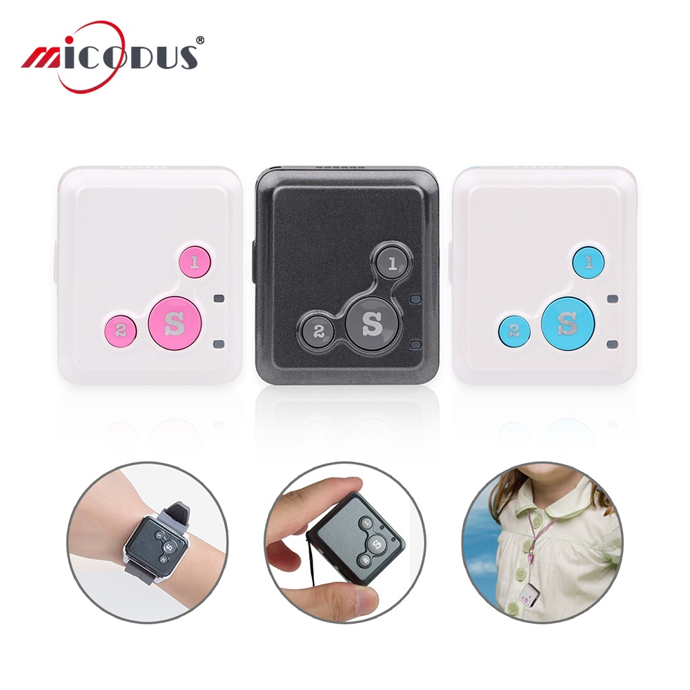 Mini GPS Tracker Children Free Web APP Two Way Talk SOS Alarm Geo fence Elderly Locator
