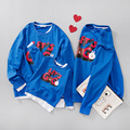Matching Family Mother Son Outfits Daughter Clothes 2017 New Spring Family Look Costume funnny Clothes Pajamas Matching Hoodie