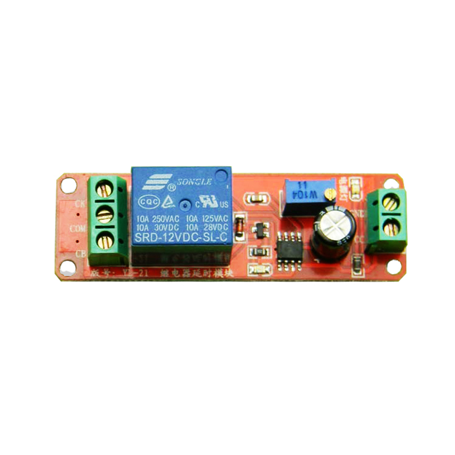 Delay Timer Relay Turn Off Module Time Switch Dc 12v For On Robot Intelligent Car Diy Electronic Alibaba Group
