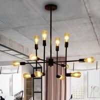 Винтажная Подвесная лампа кухня столовая люстры де Сала подвесные светильники для современного ресторана/бара/Кофейни подвесной светильн