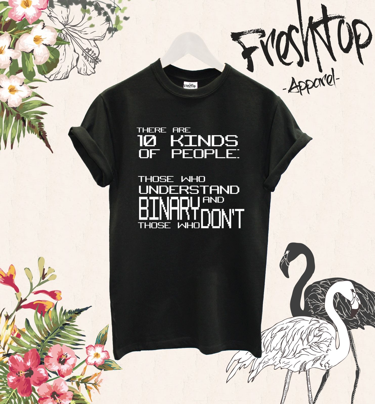 There Are 10 Kinds of People Those Who Understand Binary T Shirt PC Gamer Hacker for Man Hipster O-Neck Causal Cool T-Shirt