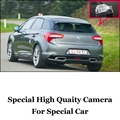 Câmera do carro Para Citroen DS5 DS 5 2011 ~ 2015 de Alta Qualidade Rear View Camera Back Up Para Os Fãs   CCD + RCA