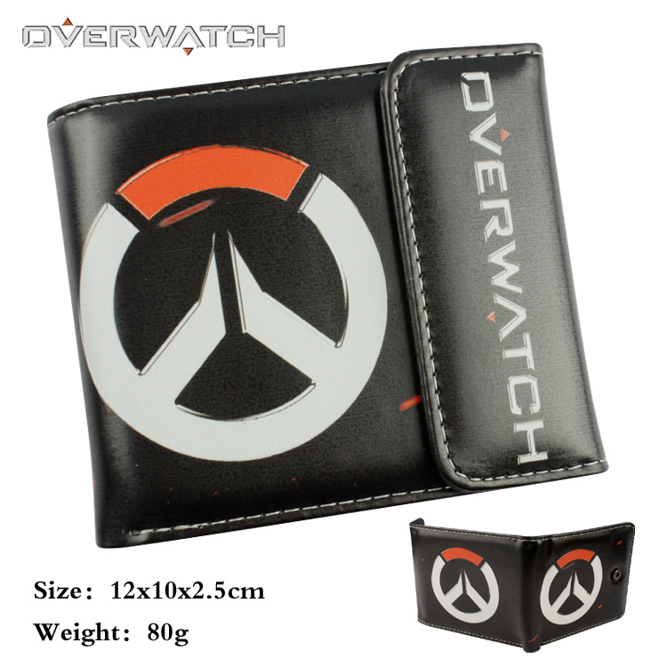 Game Overwatch wallet cartoon Purse Young People mens women purse holders wallet young people young people all at once