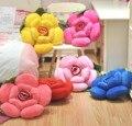 40 ~ 50 cm Grandes flores rosa de brinquedo de pelúcia almofada do sofá do escritório cochilo Hold travesseiro aniversário de casamento amante do presente 1 pc