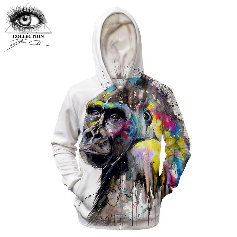 I see the future by Pixie cold Art 3D Hoodies Men Women Sweatshirts Jackets Zipper Hooded Pullover Casual Tracksuits Streetwear