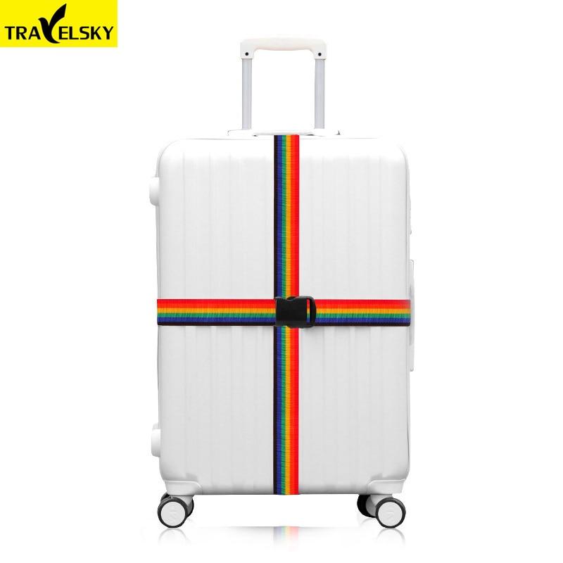 Tali bagasi perjalanan, Disesuaikan nilon yang kuat lintas sabuk - Aksesori perjalanan - Foto 3