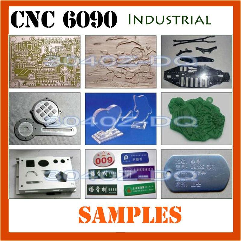 Ipari 6090 CNC útválasztó formázó fa dizájn faragó - Famegmunkáló berendezések - Fénykép 5
