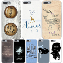 After All This Time Harry potter Hard Transparent Cover Case for iPhone 7 7 Plus 6 6S Plus 5 5S SE 5C 4 4S