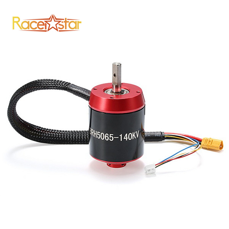 Racerstar 5065 BRH5065 140KV 6-12S Brushless Motor Without Gear For Balancing Scooter цена