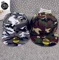 New Camouflage Army Green Color Baseball Cap Flat Snapbacks Hip Hop Hats Como Outdoor Bone