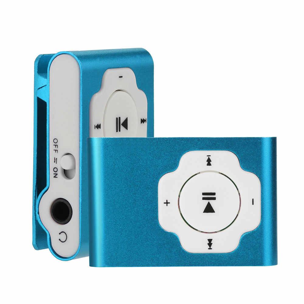 ミニポータブル USB MP3 プレーヤーサポートマイクロ SD TF カード 32 ギガバイトスポーツ音楽メディア 10.24