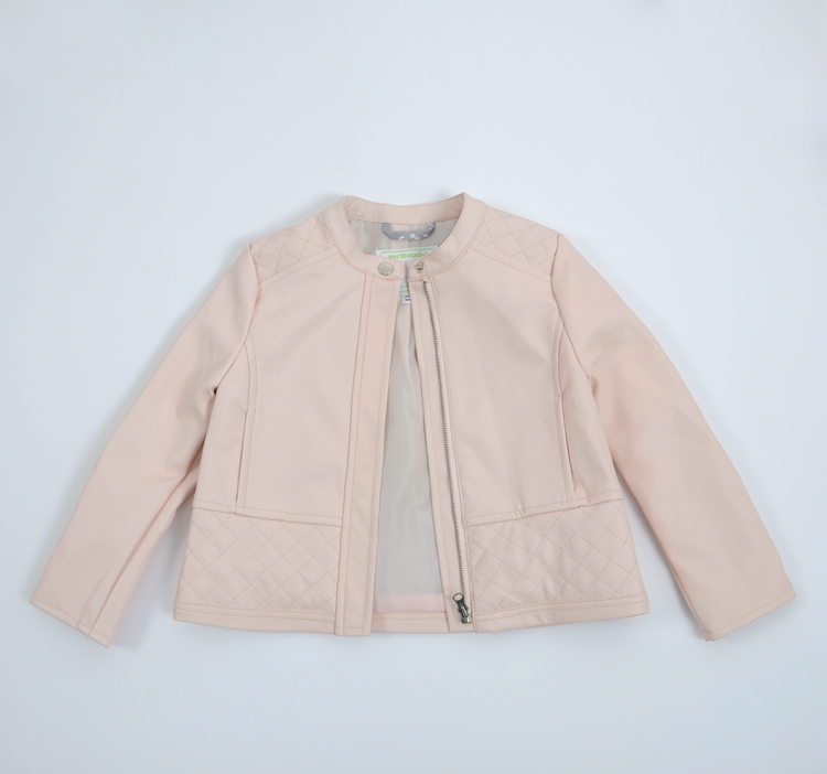 Popular Girls Pink Leather Jacket-Buy Cheap Girls Pink Leather ...