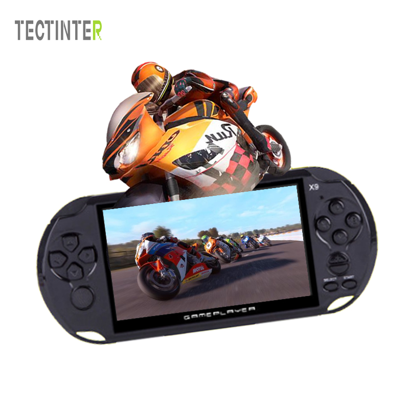 X9 Handheld Video Game console 5.1 inch Screen 8G  Game Player Support TV Output With MP3/Movie Camera
