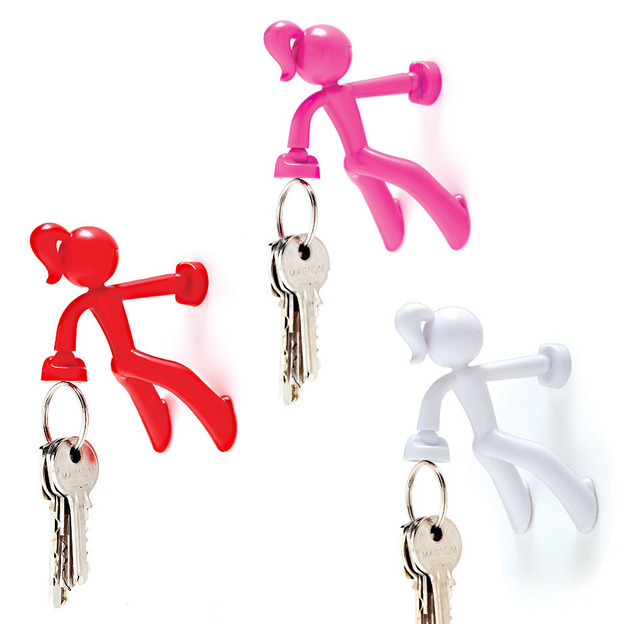 The Magnetic  Key Holder/ Lovely human/Magnetic Modular System Components/4pcs