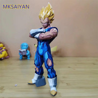 Dragon Ball Z Vegeta Super Saiyan Action Figure PVC Comic Color Goku Juguetes Toys For Children Kids Dolls Gift Brinquedos Anime