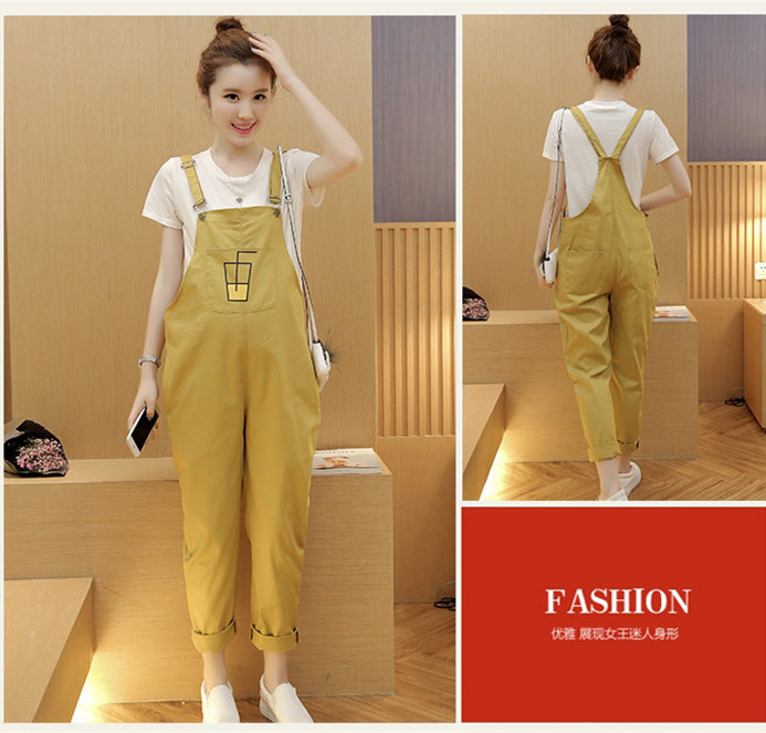Overalls Trousers Maternity Pants For Pregnancy Clothes For Pregnant Women Suspenders Jumpsuit Mothers Gravidas Nursing Clothes купить в Москве 2019