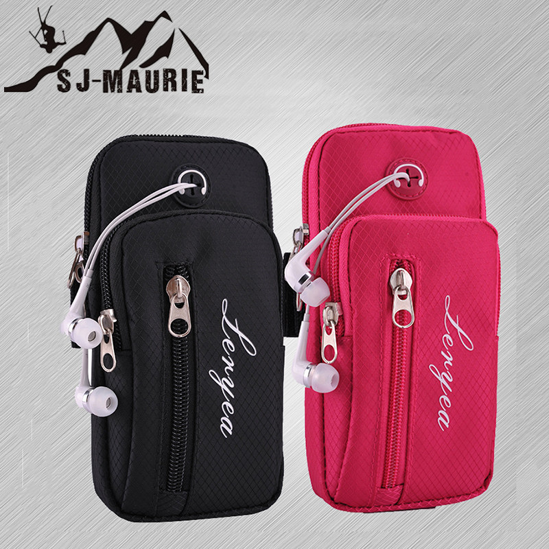 Sport Running Arm Bag Case Cover Fitness Armband Waterproof Mobile Phone Holder Spiderman Outdoor Phone Pouch Belt Gym Wristband Armbands Mobile Phone Accessories