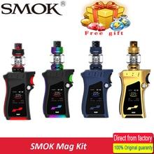 100% smok mag Комплект с 225 Вт поле mod и TFV12 принц 8 мл танк электронная сигарета VAPE smok Mag комплект против smok чужой 220 Вт комплект